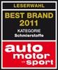 BEST Brand 2011