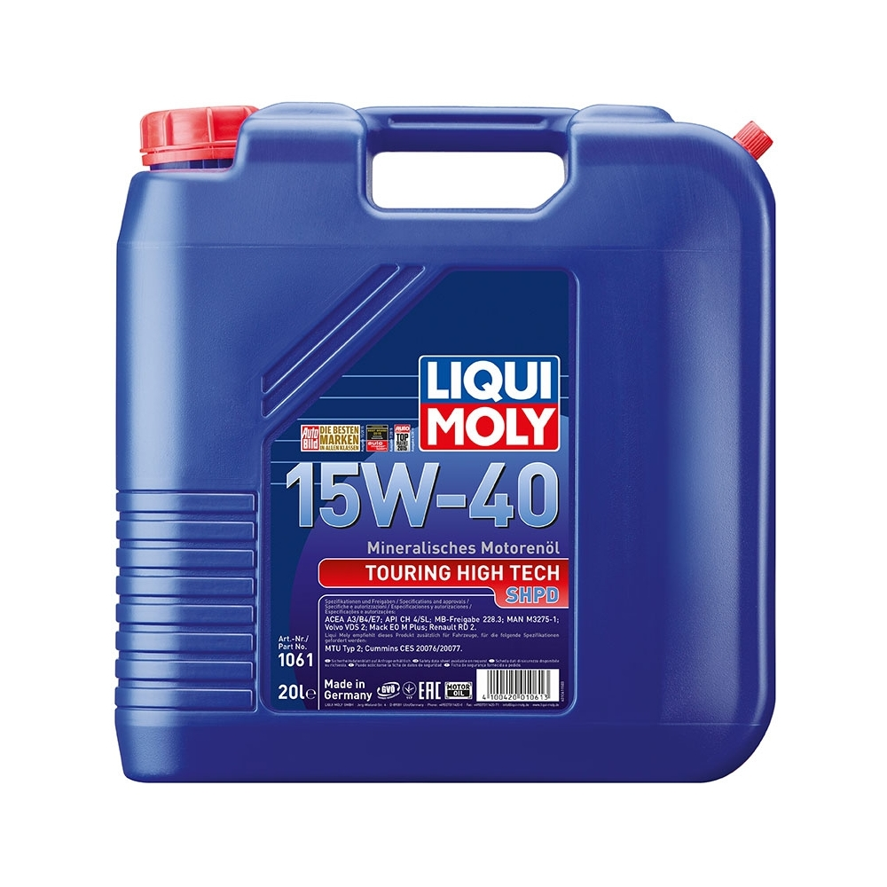 liqui moly tht shpd 15w 40 60 l oleje. Black Bedroom Furniture Sets. Home Design Ideas