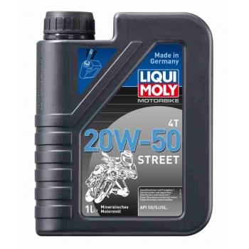 Liqui Moly Motorový olej Motorbike 4T 20W-50 Street 1 l