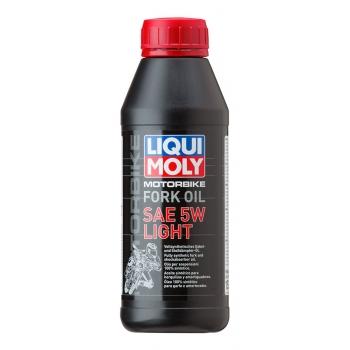 Liqui Moly Olej do tlumičů pro motocykly - lehký 5W 500 ml