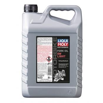 Liqui Moly Olej do tlumičů pro motocykly - lehký 5W  5 l