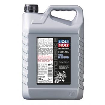 Liqui Moly Olej do tlumičů pro motocykly - střední 10W 5 l
