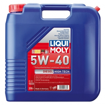 Liqui Moly Diesel High Tech 5W-40 20 l