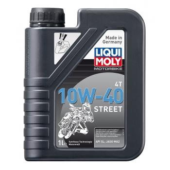 Liqui Moly Motorový olej Motorbike 4T 10W-40 Street  60 l