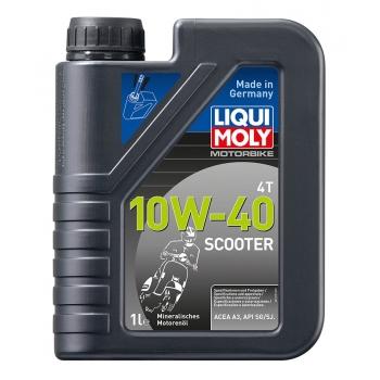 Liqui Moly Motorový olej Motorbike 4T 10W-40 Scooter 1 l