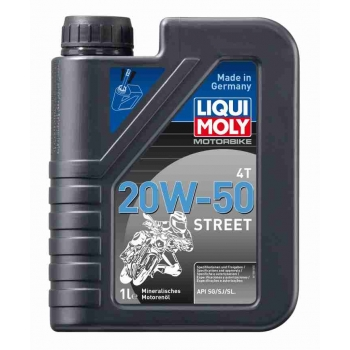 Liqui Moly Motorový olej Motorbike 4T 20W-50 Street 20 l
