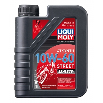 Liqui Moly Motorový olej Motorbike 4T Synth 10W-60 Race 20 l