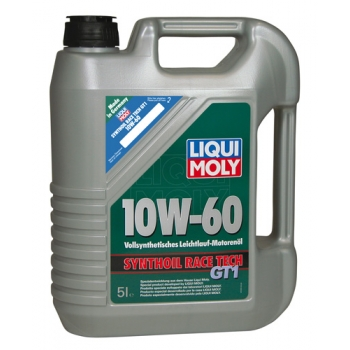 Liqui Moly Motorový olej Synthoil Race Tech GT1 10W-60 205 l