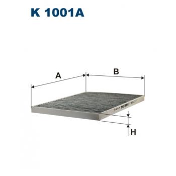 Filtron K 1001A - kabinovy filtr