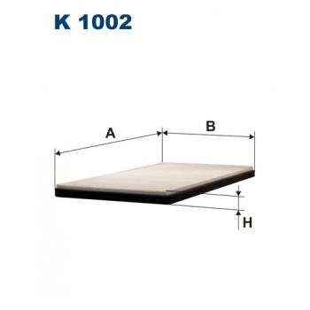 Filtron K 1002 - kabinovy filtr