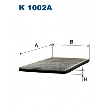 Filtron K 1002A - kabinovy filtr