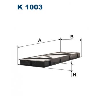Filtron K 1003 - kabinovy filtr
