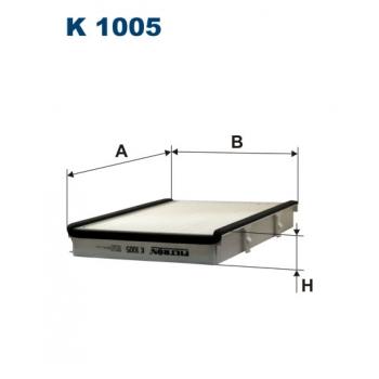 Filtron K 1005 - kabinovy filtr