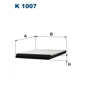 Filtron K 1007 - kabinovy filtr