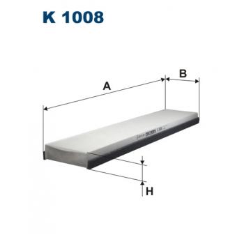 Filtron K 1008 - kabinovy filtr