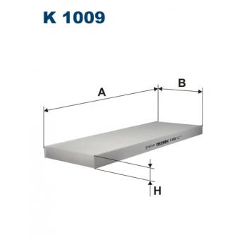 Filtron K 1009 - kabinovy filtr