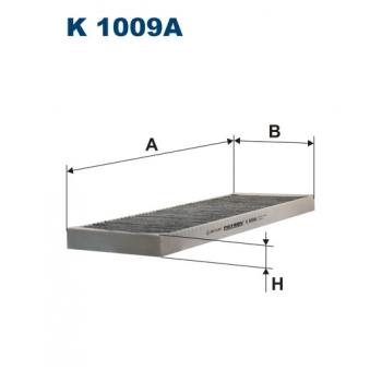 Filtron K 1009A - kabinovy filtr