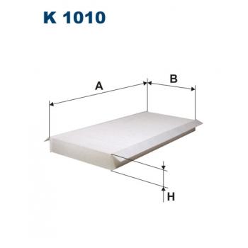 Filtron K 1010 - kabinovy filtr