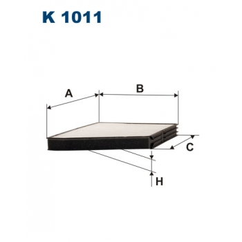 Filtron K 1011 - kabinovy filtr