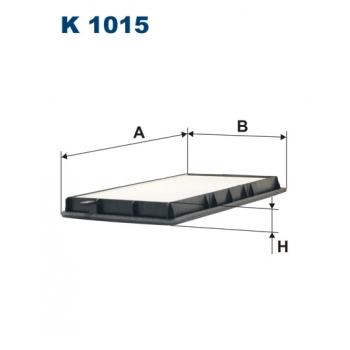Filtron K 1015 - kabinovy filtr