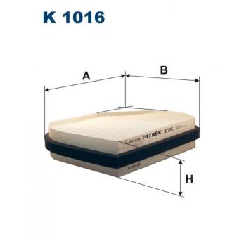 Filtron K 1016 - kabinovy filtr