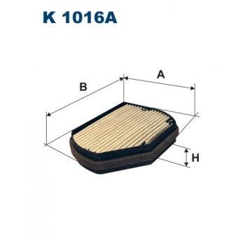 Filtron K 1016A - kabinovy filtr