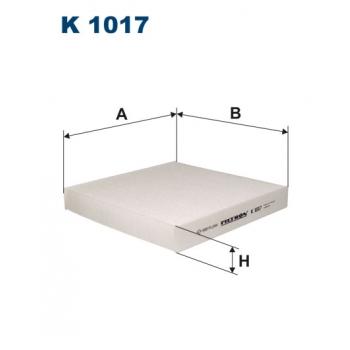 Filtron K 1017 - kabinovy filtr
