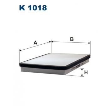Filtron K 1018 - kabinovy filtr