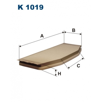 Filtron K 1019 - kabinovy filtr