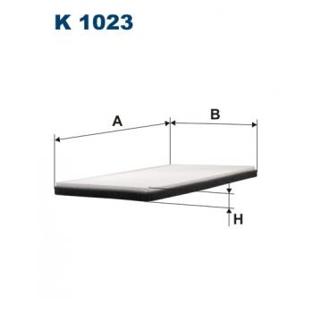 Filtron K 1023 - kabinovy filtr