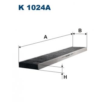 Filtron K 1024A - kabinovy filtr