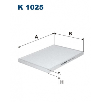Filtron K 1025 - kabinovy filtr