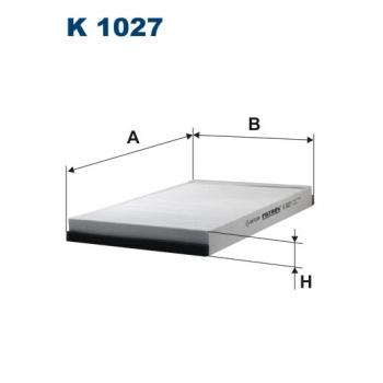 Filtron K 1027 - kabinovy filtr