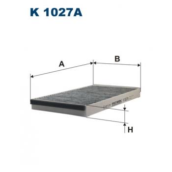 Filtron K 1027A - kabinovy filtr