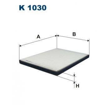Filtron K 1030 - kabinovy filtr