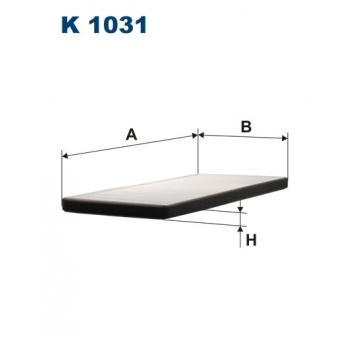 Filtron K 1031 - kabinovy filtr