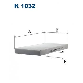 Filtron K 1032 - kabinovy filtr