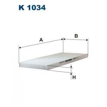 Filtron K 1034 - kabinovy filtr