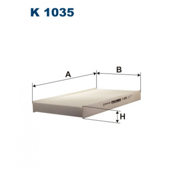 Filtron K 1035 - kabinovy filtr