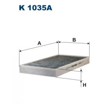 Filtron K 1035A - kabinovy filtr