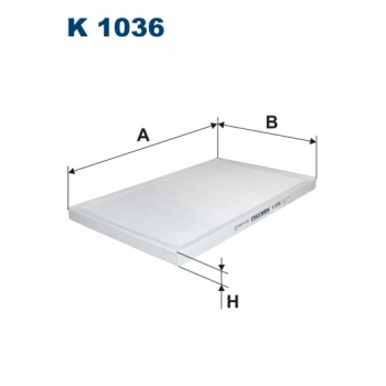 Filtron K 1036 - kabinovy filtr