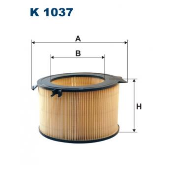 Filtron K 1037 - kabinovy filtr