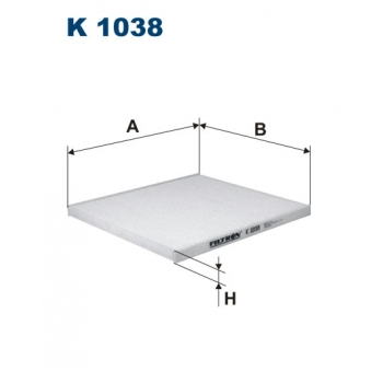 Filtron K 1038 - kabinovy filtr
