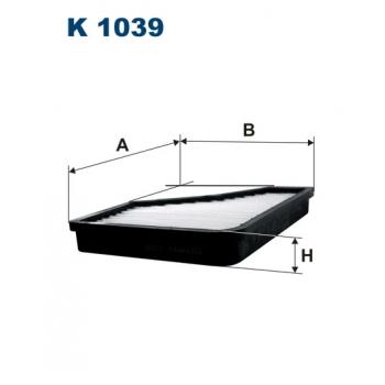 Filtron K 1039 - kabinovy filtr