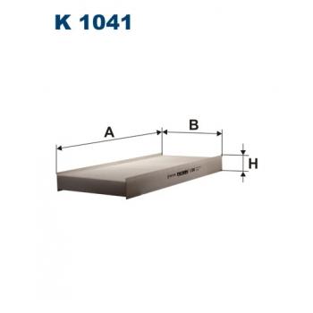 Filtron K 1041 - kabinovy filtr