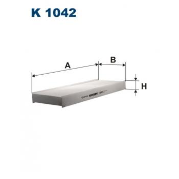 Filtron K 1042 - kabinovy filtr