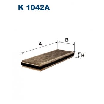 Filtron K 1042A - kabinovy filtr