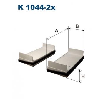 Filtron K 1044-2X - kabinovy filtr
