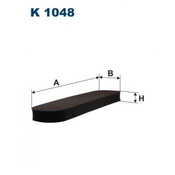 Filtron K 1048 - kabinovy filtr