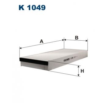 Filtron K 1049 - kabinovy filtr
